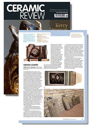 Article from Ceramic Review
